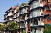 Pengzhgou, China: Modern Apartment Building — Stock Photo