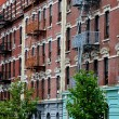 Stock Photo: NYC: West Side Tenement Buildings