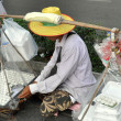 Stock Photo: Bangkok, Thailand: Street Vendor Selling Food on Sukhamvit Road