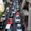 Bangkok, Thailand: Traffic Jam on Sukhamvit Road — Stock Photo