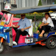 Stock Photo: Bangkok, Thailand:n Tuk-tuk Taxi on Sukhamvit Road