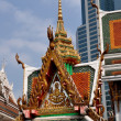 Stock Photo: Bangkok, Thailand: Wat HuLamphong