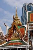 Bangkok, Thailand: Wat Hua Lamphong — Stockfoto