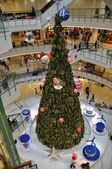 Bangkok, Thailand: Christmas Tree at Central World Shopping Center — Stock Photo