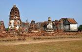 Lopburi, Thailand: 13th Century Wat Phra Sri Rattahana Mahathat — Foto Stock