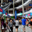 Bangkok, Thailand: People Shopping at Terminal 21 — Stock Photo