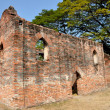 Lopburi, Thailand: Royal Warehouse Ruins at Wat Phra Narai Rachanivej — Stock Photo