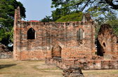 Lopburi, Thailand: Royal Warehouse Ruins at King Narai's Palace — Stock Photo