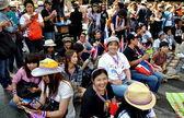 Bangkok,Thailand: Operation Shut Down Bangkok Demonstrators — Foto de Stock