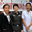Stock Photo: Bangkok, Thailand: Medical Staff at Anti-government Demonstrations