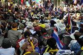 Bangkok, tayland: operasyon kapamak bangkok göstericiler — Stok fotoğraf