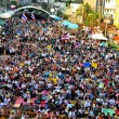ストック写真: Bangkok, Thailand: Operation Shut Down Bangkok Demonstrators