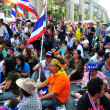 Bangkok, Thailand: Operation Shut Down Bangkok Demonstrators — Stock Photo #38894153