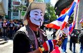 Bangkok, Thailand: Operation Shut Down Bangkok Demonstrator — Stock Photo