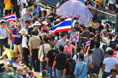 Bangkok, Thailand: Operation Shut Down Bangkok Demonstrators — Стоковое фото