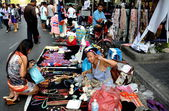 Bangkok, Thailand: Operation Shut Down Bangkok Souvenir Sellers — Stock Photo