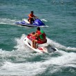 Bangkok, Thailand: Two Jet Ski Boats at Sea — Stock Photo #39290667