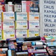 Stock Photo: Bangkok, Thailand: Sexual Enhancement Products Sold on Street