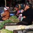 Pengzhou, China: Farmers at TiFu Market — Foto Stock #39298989