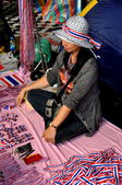 Bangkok, Thailand: Operation Shut Down Bangkok Souvenir Seller — Stock Photo