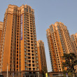 Pengzhou, China: Modern Luxury Apartment Towers — Stock Photo #39539389