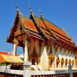 Stock Photo: Pattaya, Thailand: ViharHall at Wat Chai Mongkhon