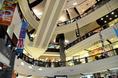 Pattaya, Thailand: Festival Shopping Mall Modern Atrium — Stock Photo