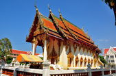 Pattaya, Thailand: Vihara Hall at Wat Chai Mongkhon — Stock Photo