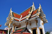 Pattaya, Thailand: Temple Pavilion at Wat Chai Mongkhon — Stock Photo