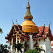 Pattaya, Thailand: Ubosot Hall at Wat Chai Mongkhon — Stock Photo #39603057