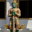 Stock Photo: Pattaya, Thailand: GuardiDemon at Wat Chai Mongkhon