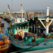 Stock Photo: Bang Saen, Thailand: Thai Fishing Boats at SapPlPier