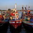 ������, ������: Bang Saen Thailand: Fishing Boats at Sapan Pla Pier