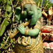 Bang Saen, Thailand: Statue of Hindu Elephant God Ganesha — Stock Photo