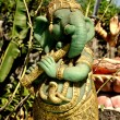Stock Photo: Bang Saen, Thailand: Statue of Hindu Elephant God Ganesha