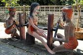 Bang Saen, Thailand: Garden of Hell Sculptures at Wat Saen Suk — Stock Photo