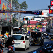 Pattaya, Thailand: Bustling PattaySecond Road — Stock Photo #40193615