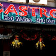 Pattaya, Thailand: Castro Hot Males Bar in Boyz Town — Stockfoto #40196367