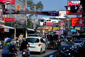 Pattaya, Thailand: Bustling Pattaya Second Road — Stock Photo
