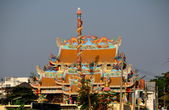 Bang Saen, Thaland: Xuan Tian Shang Di Fo Zhu Miao Chinese Temple — Stock Photo