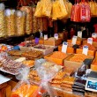 Bangkok, Thailand: Dried Seafood Shop in Chinatown — Stock Photo