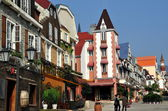 Bai Lu, Sichuan province, China: Sino-French Buildings on La Grande Rue — Stock Photo
