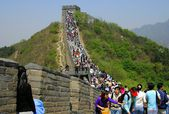 Badaling, China: The Great Wall of China — Foto de Stock