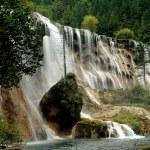 Juzhaigou, China: Pearl Shoal Waterfall — Stock Photo