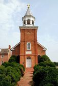 1709 Old Bohemia Church in Bohemia, Maryland — Stock Photo