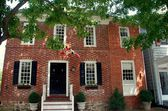 Georgian 18th Century Customs House in Chestertown, Maryland — 图库照片