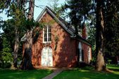 1773 St. Paul's Church in Sandy's Point, Maryland — Foto de Stock