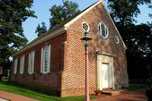 1791 Old Wye Church in Wye Mills, Maryland — Stock Photo