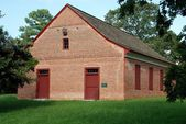 1733 Old Greenhill Church in Parish, Maryland — Stock Photo