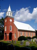 Chaptico, MD: 1736 Christ Church — Stock Photo